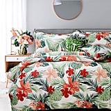 Fadfay College Bedding Tropical Duvet Cover Set