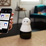 Kuri comes with a free iOS and Android app, ready to program and connect with your home.