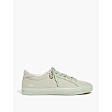Monochrome Canvas Sneakers in Sunfaded Sage