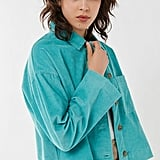 UO Clark Corduroy Button-Down Shirt Jacket
