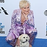 Pictured: Glenn Close and her dog, Pip.