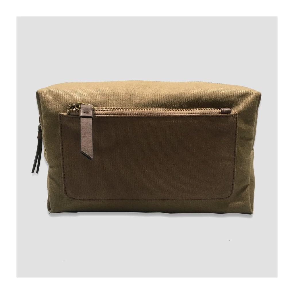 Waxed Canvas Toiletry Kit  702082283d60a