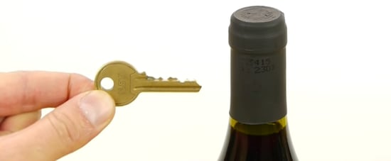 Yes, You Can Open a Wine Bottle With a House Key  — Watch This Genius Life Hack