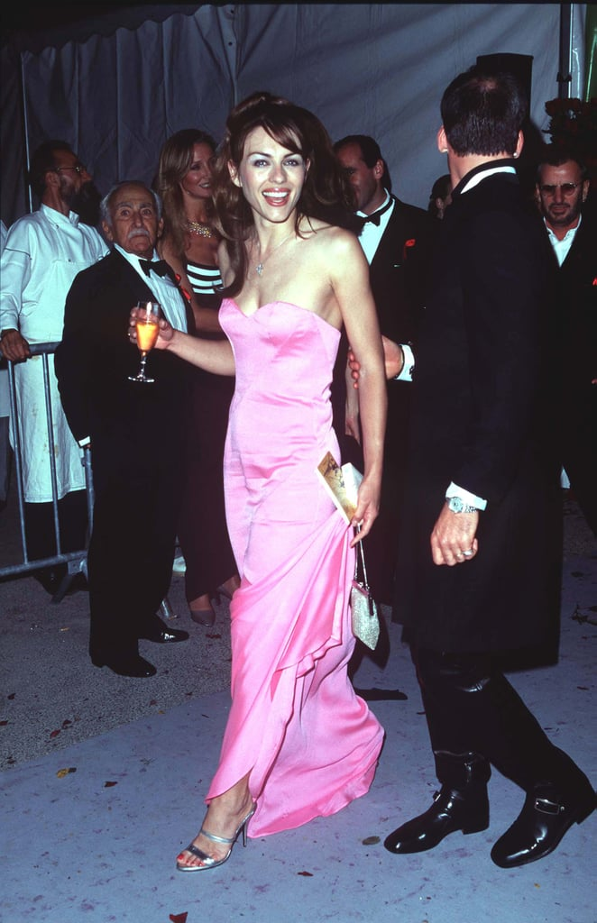 Elizabeth Hurley had a ball at an event in 1998.
