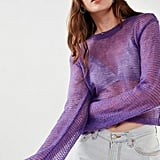 Kimchi & Blue Kimchi Blue Sunny Sheer Pullover Sweater