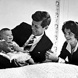 1958, With Daughter Caroline