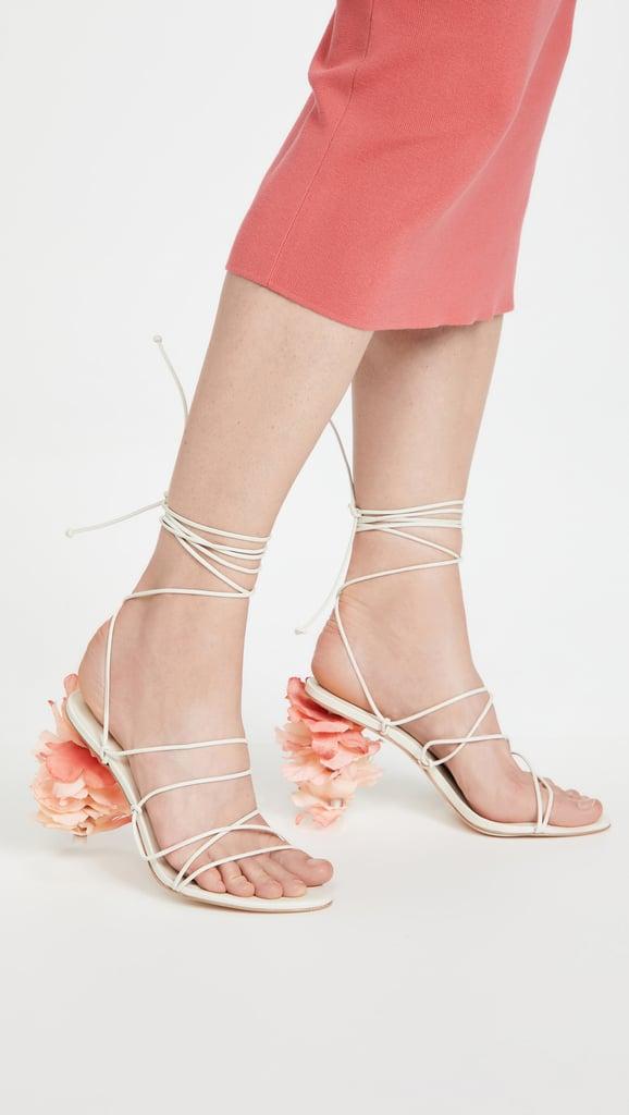 A Strappy Sandal: Cult Gaia Effie Sandals