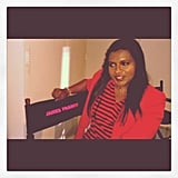 Mindy Kaling was caught in an identity crisis.  Source: Instagram user marctwain