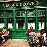 Rose & Crown Dining Room in Epcot
