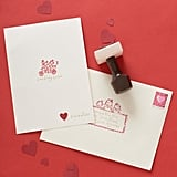 Rubber Stamp Valentine's Day Card