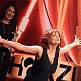 On Friday, Susan Sarandon was feeling the love at the Golden Camera Awards in Hamburg, Germany, where she received a lifetime achievement award.