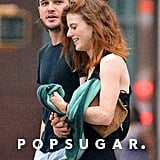 The couple took a sweet stroll around NYC in September 2016.