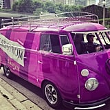 Right outside the Lollapalooza gates? The Volkswagen Nordstrom van. We must admit — it took a lot of willpower to not skip a few sets to do some serious shopping on Michigan Avenue. Source: Instagram user POPSUGARFashion