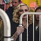 Madonna With Her Kids Opening Hospital in Malawi July 2017