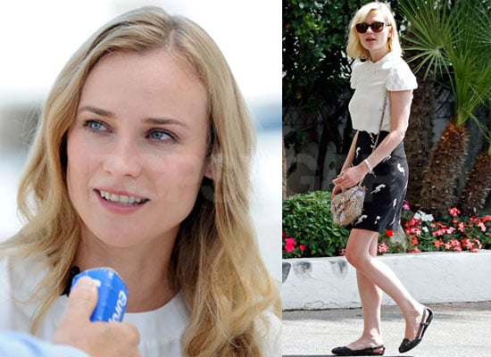 Pictures of Diane Kruger and Kirsten Dunst in Cannes, France