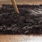 Faux Fur Sheepskin Shag Silky Rug