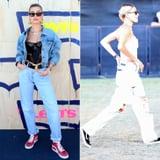 Hailey Baldwin's Coachella Shoe of Choice Is a '90s Favorite