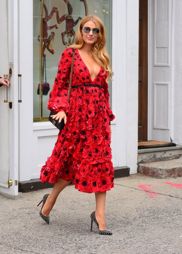 Shop for a similar Spring '16 Michael Kors dress, inspired by Blake's, below.