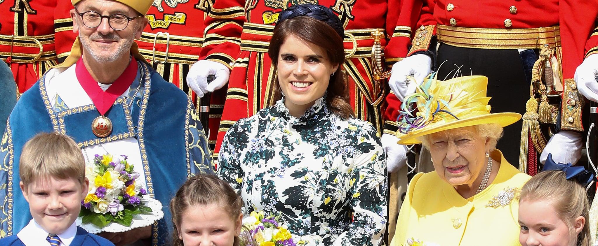Princess Eugenie Erdem Dress April 2019