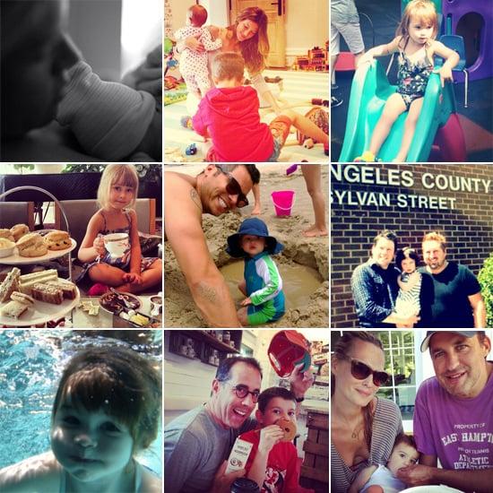 Celebrity Moms' Instagram Pictures Week of June 30, 2013