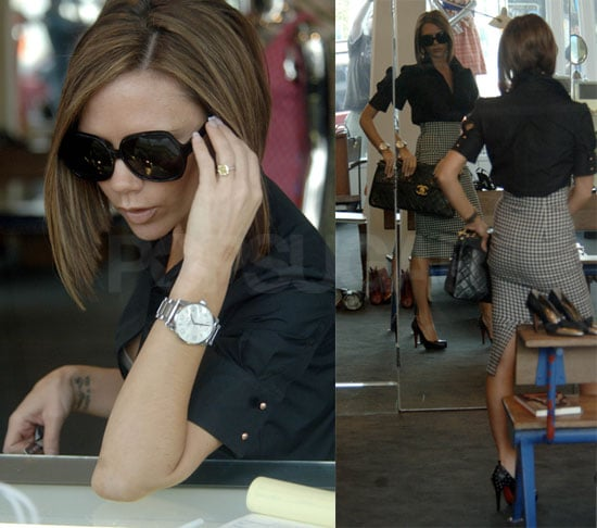 Victoria Beckham Out Shopping in LA