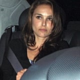 Photos of Natalie Portman Leaving Nobu
