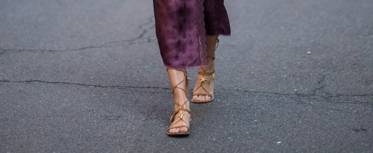 أروع إطلالات للأحذية المسطحة