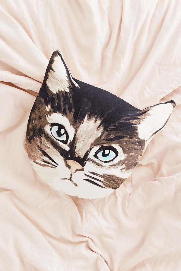 Urban Outfitters Plum & Bow Cat Pillow
