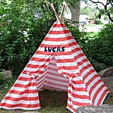 Personalized Play Tent