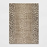 Elderberry Animal Print Woven Rug