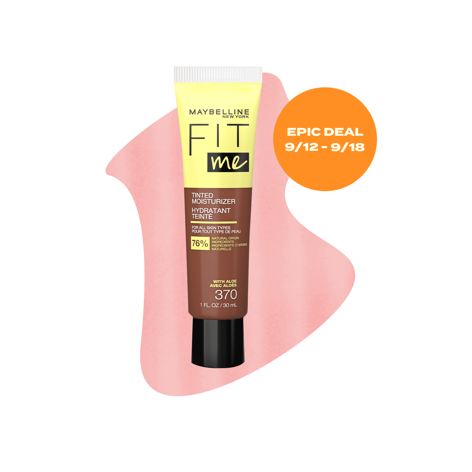Maybelline Fit Me Tinted Moisturizer