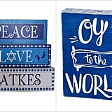 Displaying Peace and Joy Home Decor