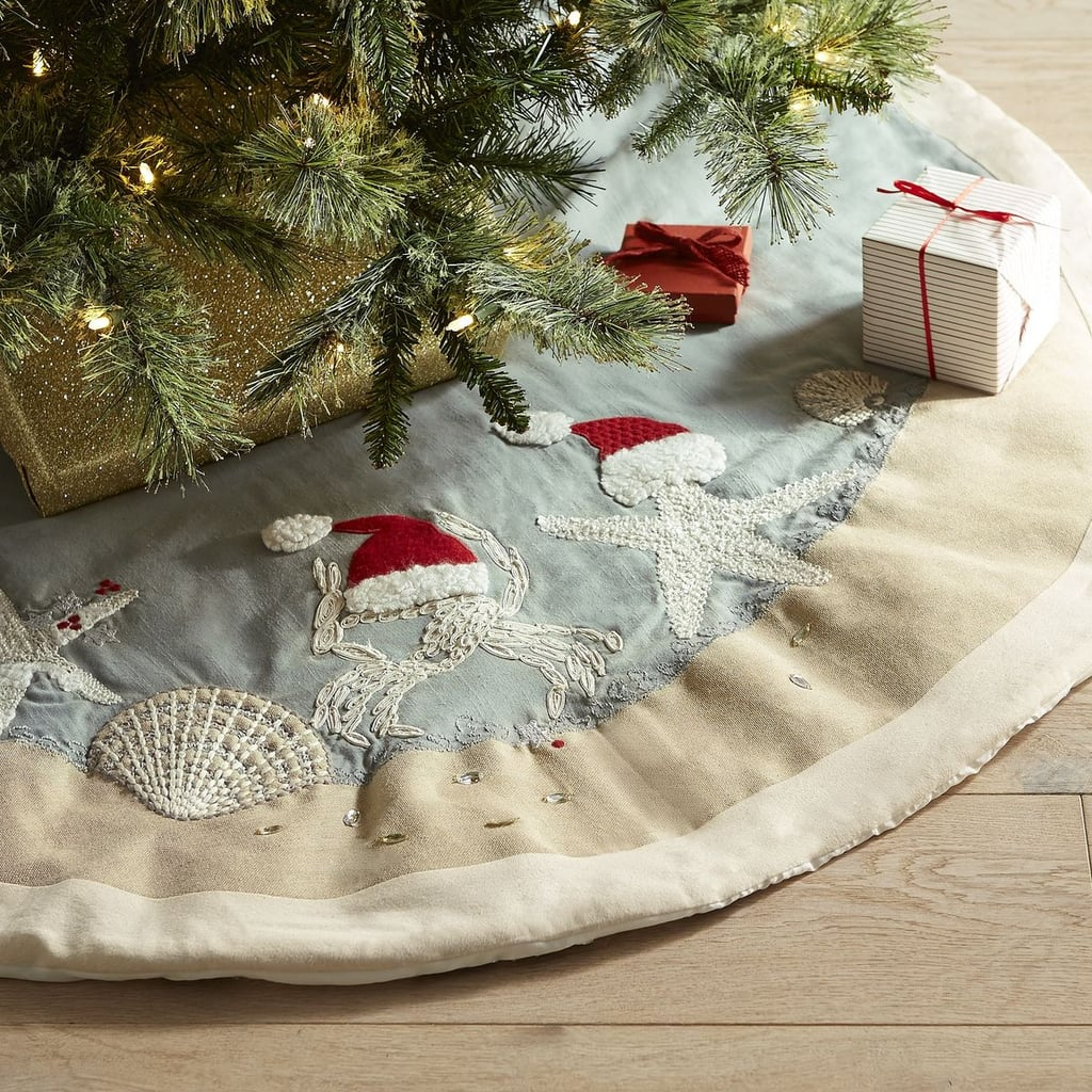Starfish Santa Hat Tree Skirt ($70)