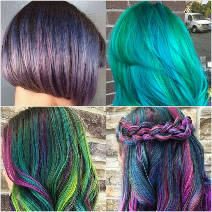 Galaxy Hair Color Ideas Popsugar Beauty