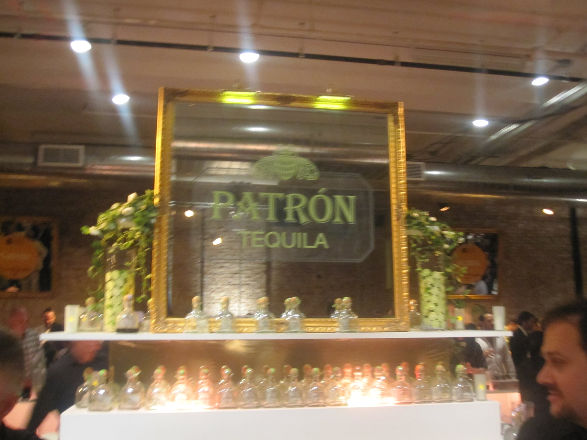 One of the bars. Patron tequila was a sponsor.