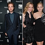 Robert, Lizzy, and Victoria Pattinson