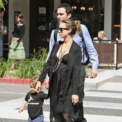 Jessica Alba Spends Time with Her Nephew