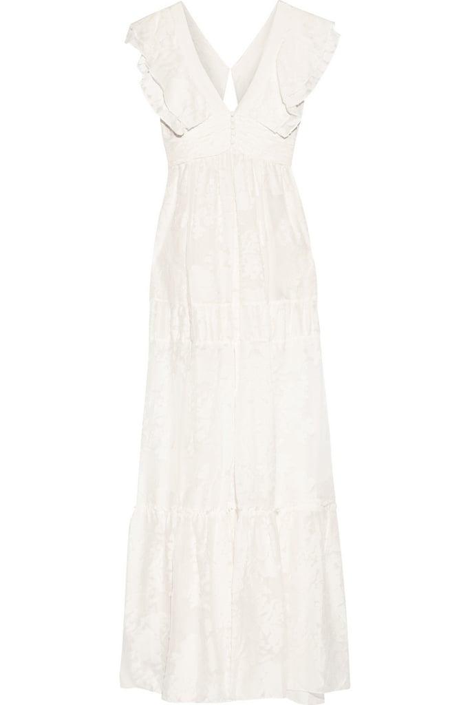 Rachel Zoe Silk and Cotton Blend Maxi Dress ($595)