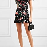 Alice McCall Ruched Chiffon Mini Dress