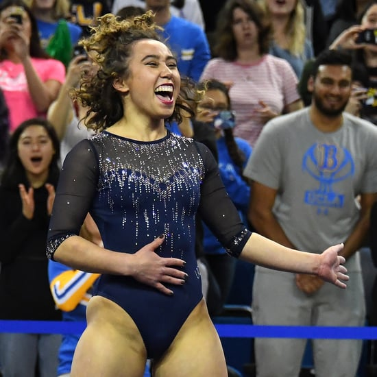 Katelyn Ohashi Explains Why She Changed Her Floor Routine