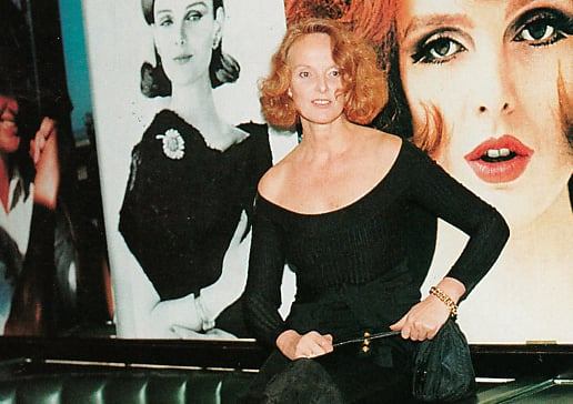 Grace Coddington turned 50 in 1991, Anna Wintour threw her a blowout party at Indochine in New York, with portraits from her modeling days adorning the walls. Coddington wore Alaia (left), and Azzedine himself flew in to surprise the redheaded editor at the dinner. Word is Coddington has again reserved all of Indochine tonight — this time to celebrate her 70th birthday. We look back at some of our favorite Coddington pictures over the years in tribute.