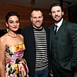 Chris Evans and Jenny Slate at LA Gifted Premiere 2017