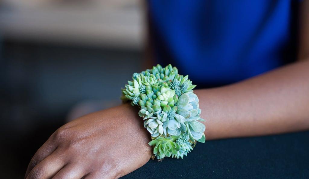 Succulent Cuff Bracelet ($175)