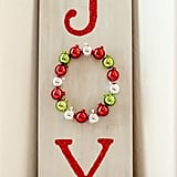 DIY Wooden Joy Sign