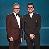 Eugene and Dan Levy at the 2020 SAG Awards