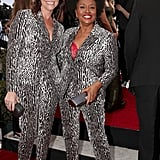 When These Stars Matched in Printed Pantsuits
