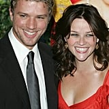 The pair couldn't stop smiling during the NYC premiere of Vanity Fair in August 2004.
