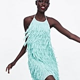 Zara Fringed Short Dress