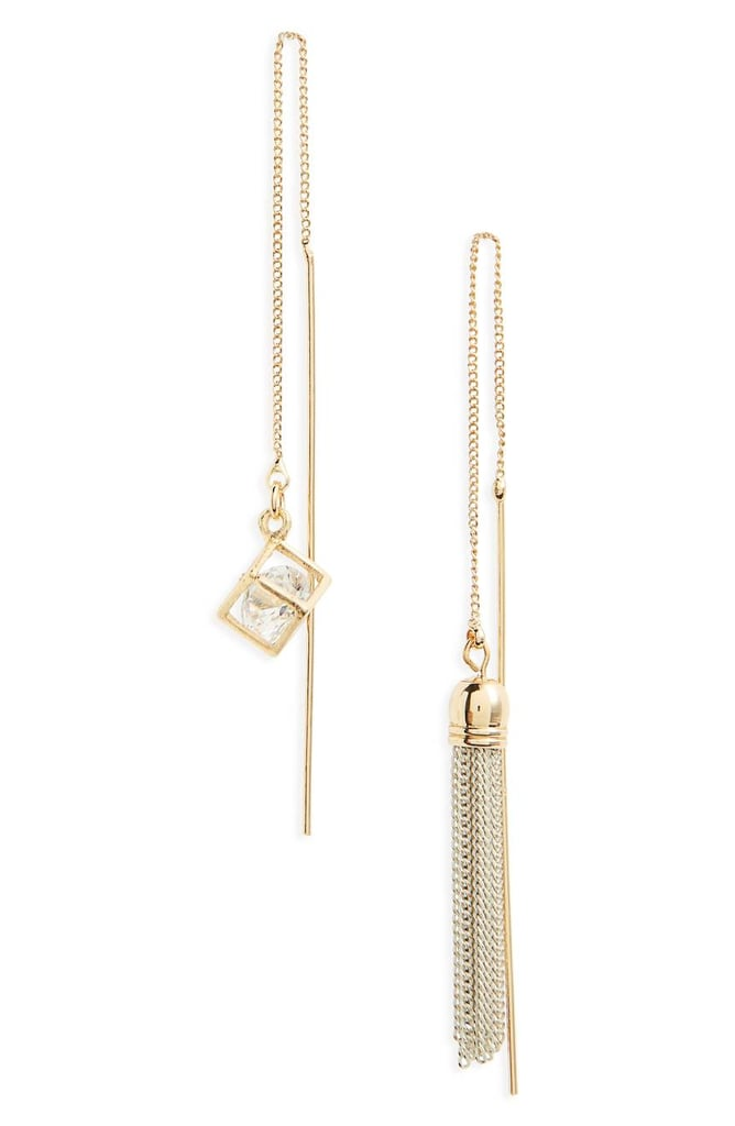 Cara Threader Earrings