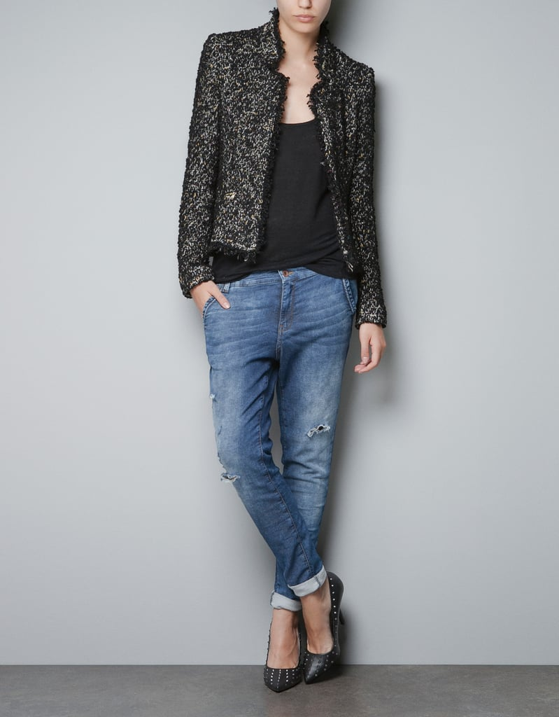 Zara Structured Blazer ($70, originally $90)